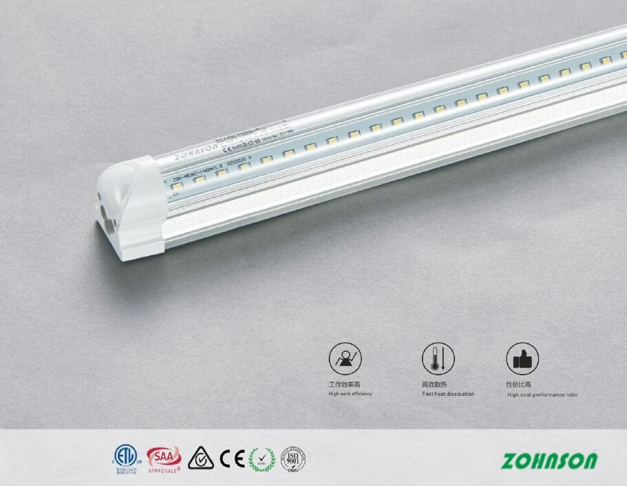 T8 tube Integrated V Shape 2400mm 60w