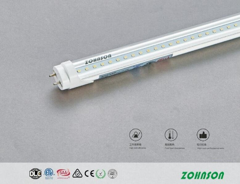 Isolated driver led T8 tube 4ft 18w ETL/DLC