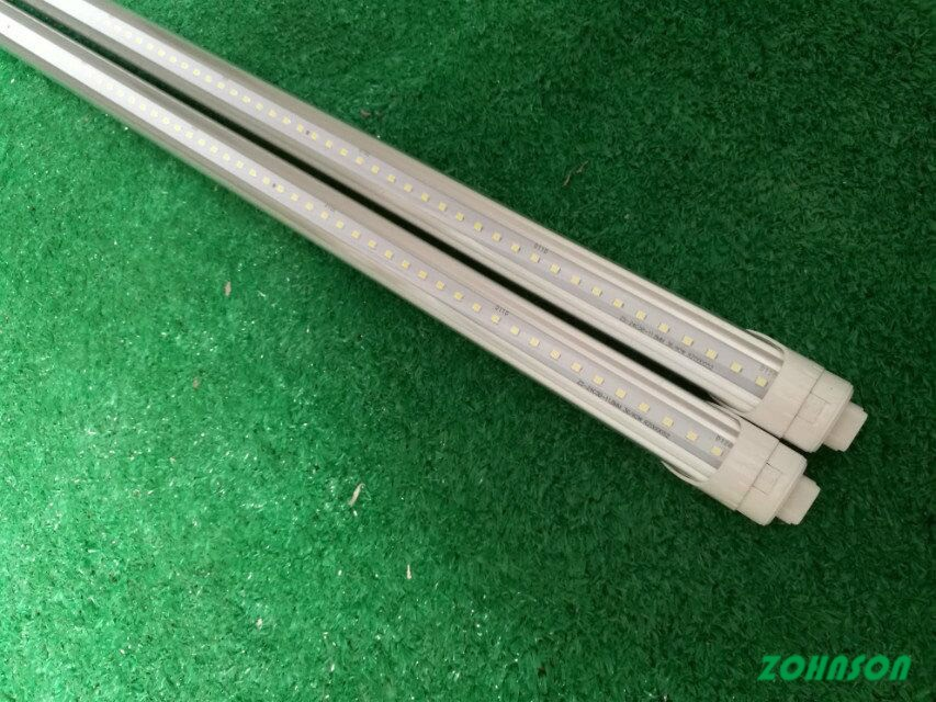 R17D V shape retrofit T8 led tube 8ft 2400mm 40w